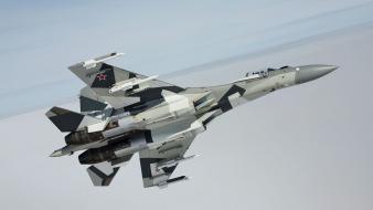 Aircraft su-27 flanker aviation air force wallpaper