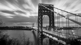 Architecture bridges new jersey george washington bridge Wallpaper
