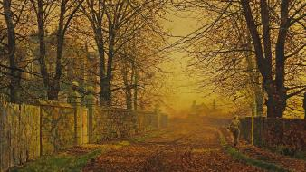 Artwork john atkinson grimshaw wallpaper