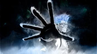 Bleach blue hair espada grimmjow jaegerjaquez complex magazine Wallpaper