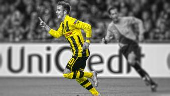 Champions league cutout borussia dortmund mario gotze wallpaper