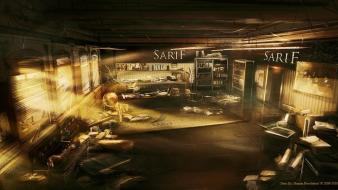 Concept art deus ex: human revolution Wallpaper