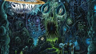 Covers deathcore technical death metal ring of wallpaper