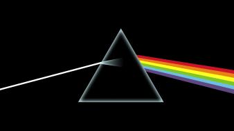 Dark side of the moon band triangle wallpaper