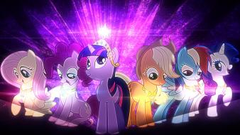 Is magic elements of harmony mane 6 wallpaper