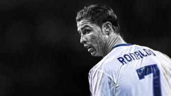 League stars cutout cf cr7 football player Wallpaper