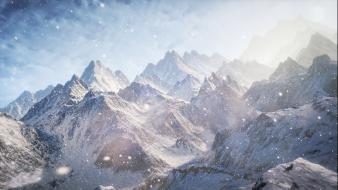 Mountains manipulation wallpaper