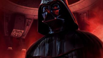 Movies futuristic darth vader science fiction artwork wallpaper