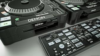 Music series 3d dj denon wallpaper