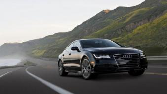 Nature cars audi roads quattro a7 german auto Wallpaper