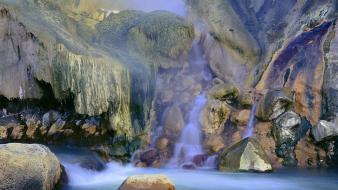 Nature russia valley geysers biosphere wallpaper