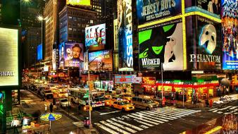 New york city times square cities Wallpaper