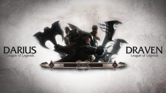 Of legends armor darius brothers draven axe wallpaper