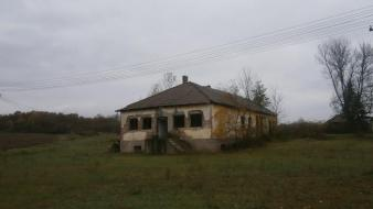 Old serbia village abandoned school wallpaper