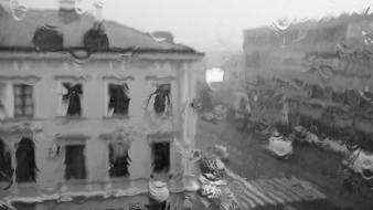Rain europe polish poland lublin cities wallpaper