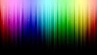 Rainbows lines bright stripe wallpaper