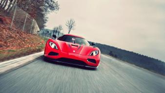 Red cars koenigsegg agera r wallpaper