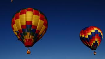 Skies aerostatic balloon ballooning wallpaper