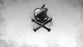 Skulls imac macintosh apple wallpaper