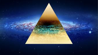 Space vintage galaxies mac hipster triangle apple wallpaper