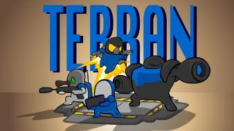 Starcraft humor terran carbotanimations picture Wallpaper