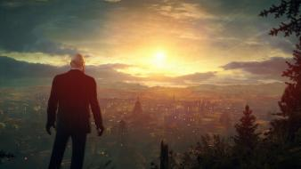 Sunset video games hitman absolution agent 47 Wallpaper