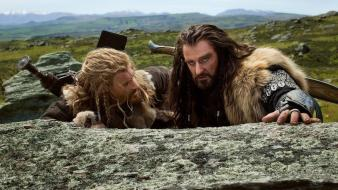 The hobbit thorin oakenshield fili richard armitage wallpaper