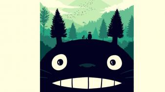 Totoro studio ghibli wallpaper