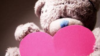 Valentines day teddy bears wallpaper