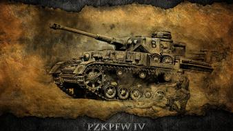 World of tanks pzkpfw 4 wallpaper