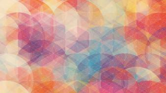 Abstract multicolor textures shapes simon c. page wallpaper