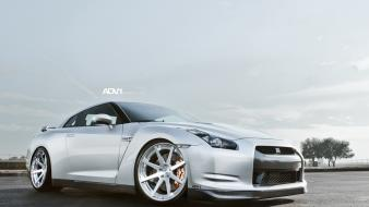 Adv 1 r35 gt-r adv1 wheels skyline wallpaper