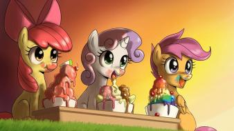 Applebloom my little pony: friendship is magic wallpaper