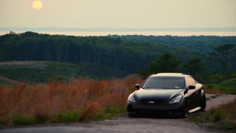 Black cars tuning infiniti g37 jdm wallpaper