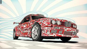 Bmw artwork matei apostolescu 1988 e30 wallpaper