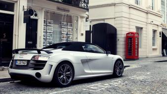 Cars audi r8 phone booth gt v10 wallpaper