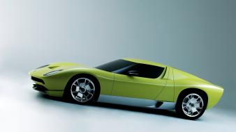 Cars lamborghini miura concept side wallpaper
