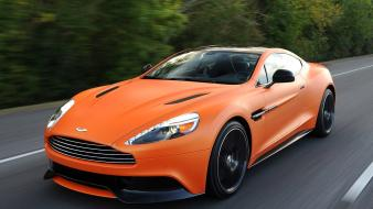 Cars orange 2014 matte aston wallpaper