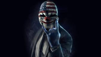 Dallas overkill payday 2 gloves masks Wallpaper