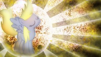 Derpy hooves my little pony: friendship is magic Wallpaper