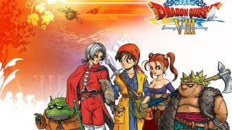 Dragon quest toad hero angelo jessica albert yangus wallpaper