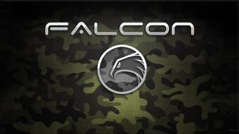 Falcon logos wallpaper