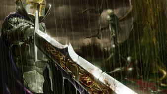Fantasy art swords wallpaper