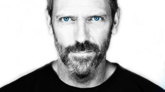 Hugh laurie gregory house selective coloring faces wallpaper