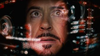 Iron man movies film robert downey jr hud wallpaper