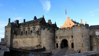 Landscapes castles scotland stirling castle Wallpaper