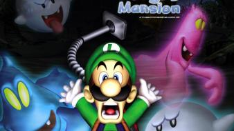 Nintendo luigi gamecube luigi´s mansion wallpaper