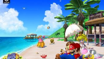 Nintendo mario peach gamecube super sunshine wallpaper