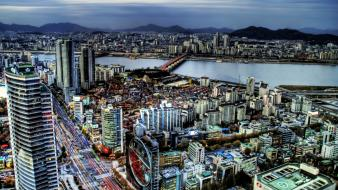 Panorama seoul south korea Wallpaper