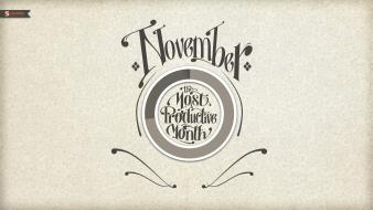 Patterns typography grayscale november smashing magazine productivity wallpaper